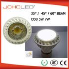epistar led 350lm Dimmable COB 5w adjustable beam spotlight