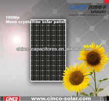 solar panel monocrystalline,195w solar panel monocrystalline