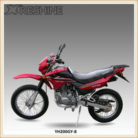 4 stroke air-cooled off road tyre 200cc motorcycle for sale