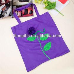 2014 Rose Foldable Shopping Bag wholesale