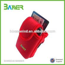 Custom Made Quality-Assured Neoprene armband phone bag&camera case
