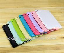Silicone TPU cover case for ipad mini