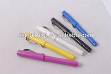 promotional fancy plastic gel ink pen