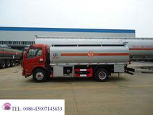 Usado transferência de tanques de combustível, 4cbm-5cbm volume de diesel do tanque de combustível