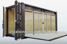 STAXBOND transparent container shop showroom match UL starndard