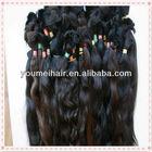 virgin brazilian and peruvian hair bulk& high quality human hair bulk from Chnia