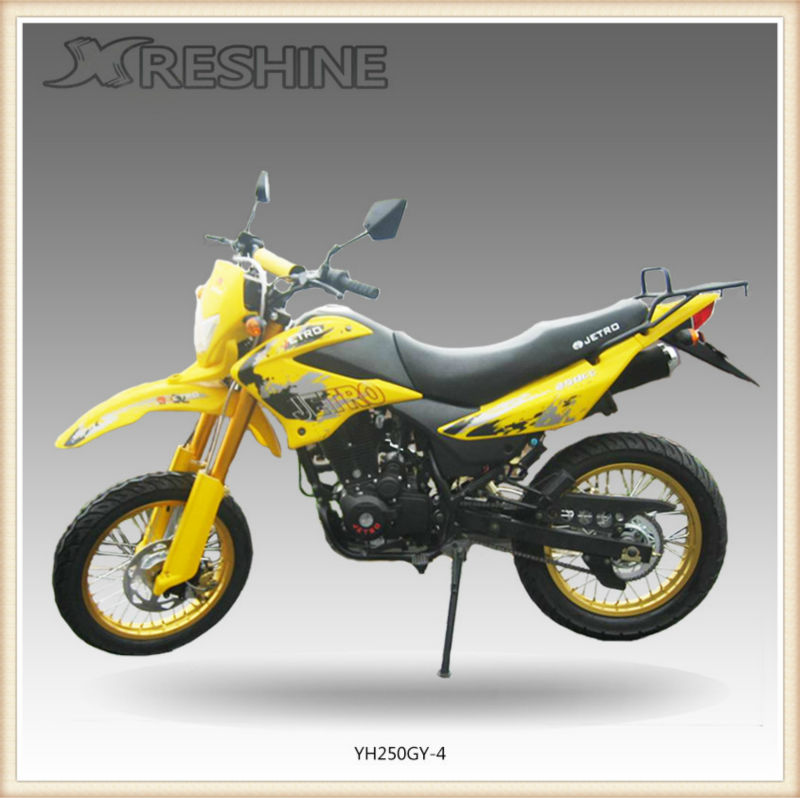 Cheap Mini gas off road motorcycle 250cc dirt bike for adults