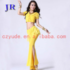 Belly dance practice Stage costumes Dance wear china belly dance costumes china T-5021#