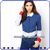 fashion design women autumn shirt in clolour block OL lady shirt formal shirt shkz 114