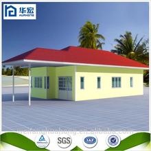 Bom modelo de casa pré-fabricada villa, Pré-fabricada kit casas