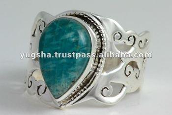 Samsonite Sterling Silver Ring, 925 Sterling Silver Jewelry, Gemstone Silver Ring