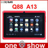 Newest 7 inch tabet OS-Q88 Android 4.0 Allwinner A13 chip WIFI Hot Shenzhen Tablet