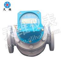 Mechanical/digital light weight flow meter