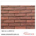 Decorativo de la pared de ladrillo, piedra de la cultura de pizarra