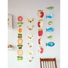 ceiling hanging crafts string paper garland craft for home decoration hot selling 2014