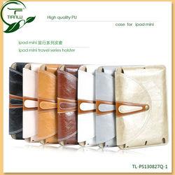Case for iPad mini , Premium PU leather case for iPad Mini 2, Wholesale low price various colors