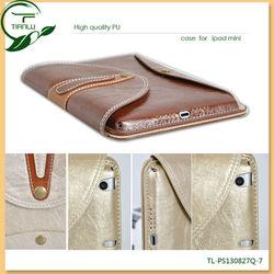 360 degree rotating pu leather case for ipad mini,for ipad leather case