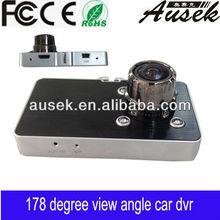 seamless loop recording 170 degree wide angle car dvr/car camera recorder