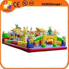 Inflatable moonwalk children bouncer inflatable castle jumper amusement park toy