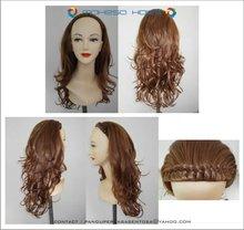 Half synthetic wig