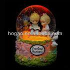 LED light snow globe,Valentine's Day water globe