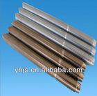 Grade 4.8/8.8/10.9/12.9/a2/a4 plain/black/galvanized/hdg hollow steel DIN975 threaded rod