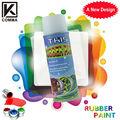 450ml caliente de la venta de magia productos de mantenimiento del coche 8 minutos de secado rápido de goma blanca pintura en aerosol