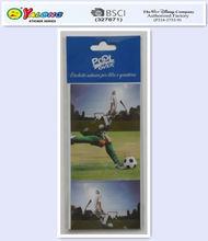 football sports self adhesive sticker paper