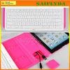 Rotatable 360 degree bluetooth keyboard for ipad mini