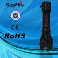 supfire y8 q5 cree led linternas recargables para el buceo y la antorcha impermeable