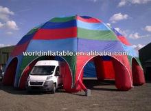 Custom diameter 10 Dome 6 legs inflatable tent