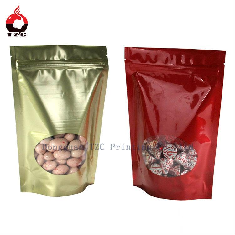 Plastic custom printing plastic bags for food packing