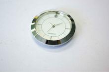Quartz Insert Clock Gold Bezel Roman Gold Face hole battery