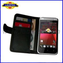Case For HTC Desire 200, New Wallet Leather Case for HTC Desire 200 Case, Laudtec