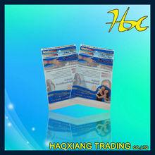 cardboard header packaging bags Contracted style
