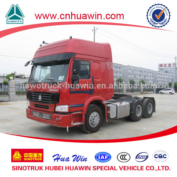 Howo 336hp Used Tractor Truck