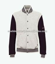 Fleece Kintted Varsity Jacket