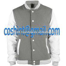 Fleece Varsity Jacket with customized logo