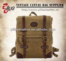 BUG Vintage Canvas backpack/rucksack/Hiking Travel Military BacMen's Vintage