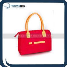 Ladies fashion felt bag Promotion red felt bag Wool felt fashion bag