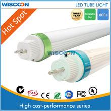 5ft 2600lm 25w price led tube light t8