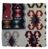 Kilim patch cushion covers