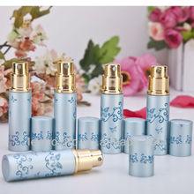 Easy bottom fill aluminum custom perfume atomizers 5ml