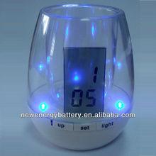 digital Pen holder alarm clock 2013