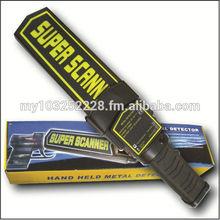 SUPER SCANNER - HAND HELD METAL DETECTOR