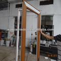 china la fábrica de foshan interior de pvc puerta de madera