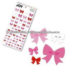 JOY Sticker Ribbon _ printer ribbon _ sticker printing _ stationery item _ handmade _ japanese sticker