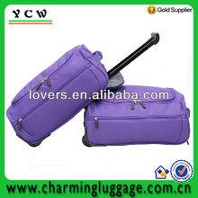 fashion travel trolley luggage/wholesale travel luggage