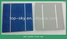 TP-156P Hottest sell 6''x6'' multi-crystalline solar cell supplier high efficiency broken solar cells