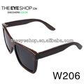 W206 bom preço polaroid óculos de sol de madeira